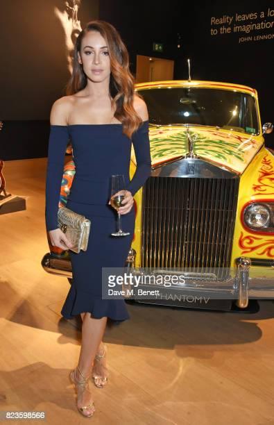 Danielle Peazer attends the global debut of the new RollsRoyce Phantom at Bonhams on July 27 2017 in London England