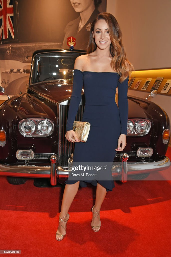 Danielle Peazer attends the global debut of the new Rolls-Royce Phantom at Bonhams on July 27, 2017 in London, England.