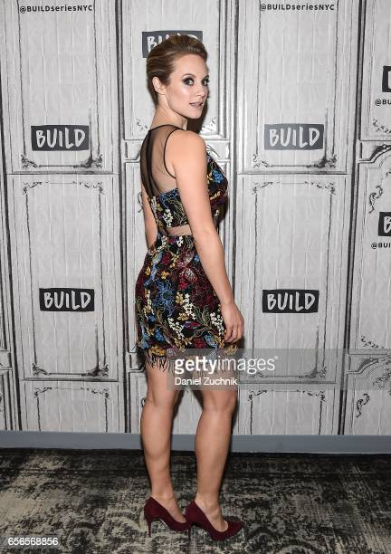 Danielle Savre attends the Build Series to discuss her show 'Too Close to Home' at Build Studio on March 22 2017 in New York City