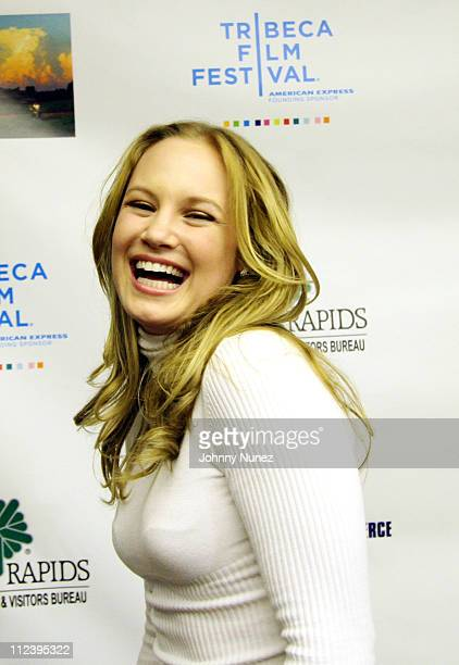 Danielle Savre during 6th Annual Tribeca Film Festival 'The Final Season' Arrivals at Pace University in New York City New York United States
