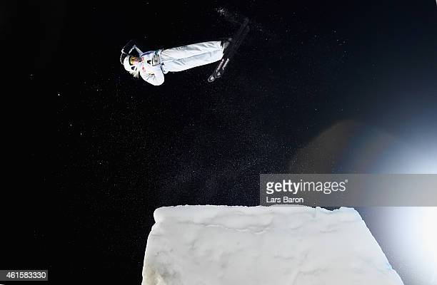 Danielle Scott of Australia competes during the Men's Aerials Final of the FIS Freestyle Ski and Snowboard World Championship 2015 on January 15 2015...