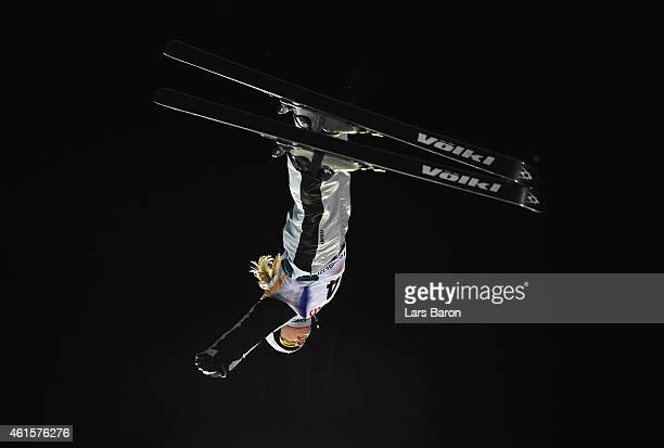 Danielle Scott of Australia competes during the Women's Aerials Final of the FIS Freestyle Ski and Snowboard World Championship 2015 on January 15...
