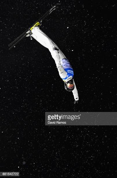 Danielle Scott of Australia competes during the Women's Aerials Final on day three of the FIS Freestyle Ski and Snowboard World Championships 2017 on...