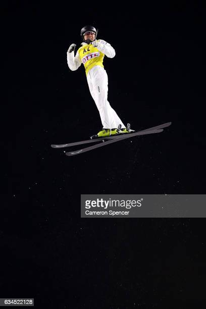 Danielle Scott of Australia competes in the FIS Freestyle Ski World Cup 2016/17 Ladies Aerials final at Bokwang Snow Park on February 10 2017 in...