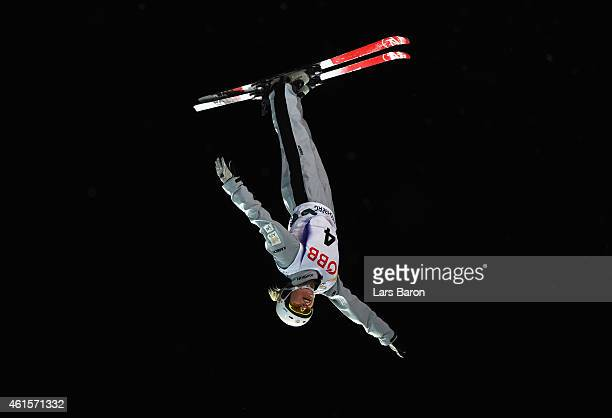 Danielle Scott of Australia competes in the Women's Aerials Final of the FIS Freestyle Ski and Snowboard World Championship 2015 on January 15 2015...