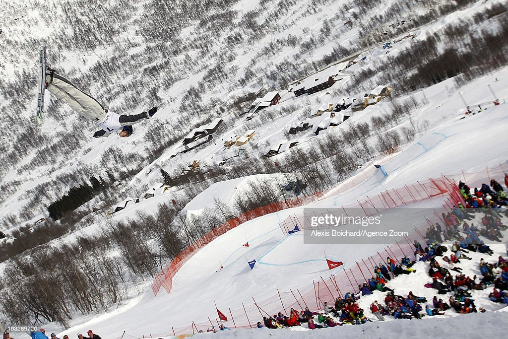 Danielle Scott of Australia during the FIS Freestyle Ski World Championship Men's and Women's Aerials on March 07, 2013 in Voss, Norway.
