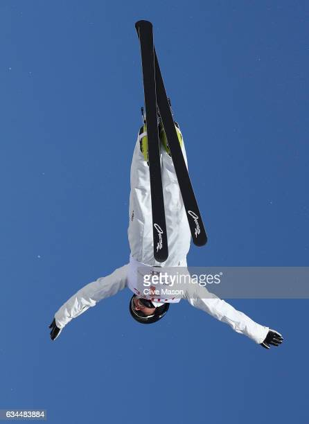 Danielle Scott of Australia in action during quaification for Ladies Aerials at the FIS Freestyle Ski World Cup 2016/17 Aerials at Bokwang Snow Park...
