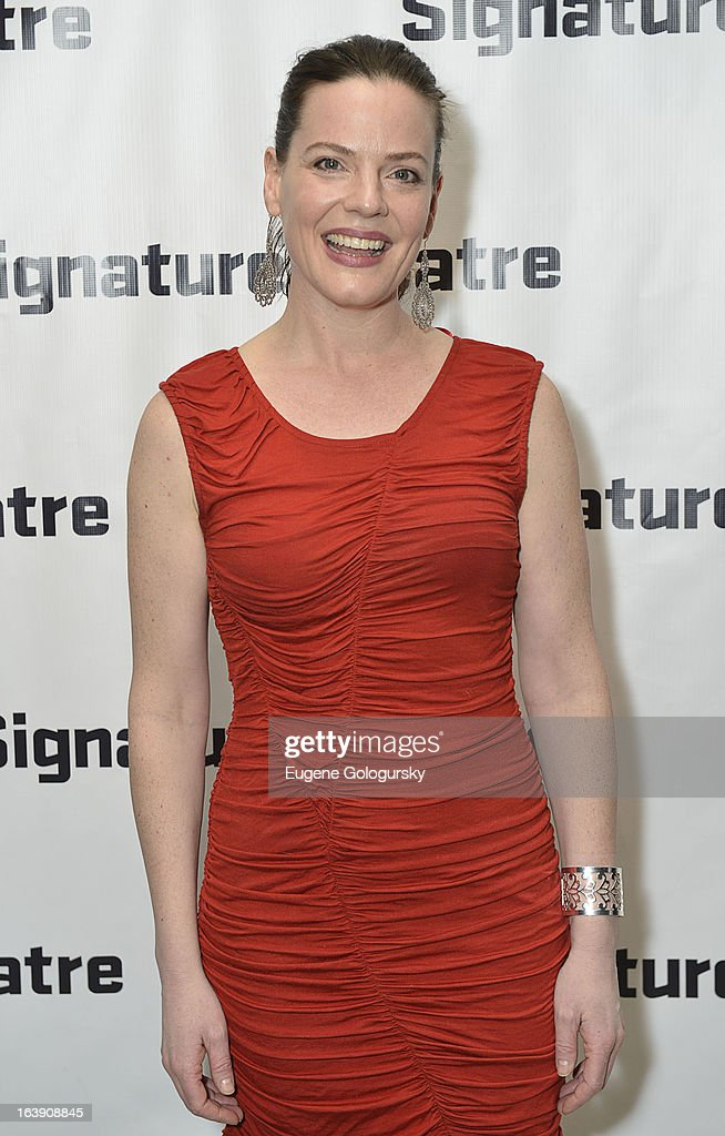 Danielle Skraastad attends 'The Mound Builders' Opening Night Party at Signature Theatre Company's The Pershing Square Signature Center on March 17, 2013 in New York City.