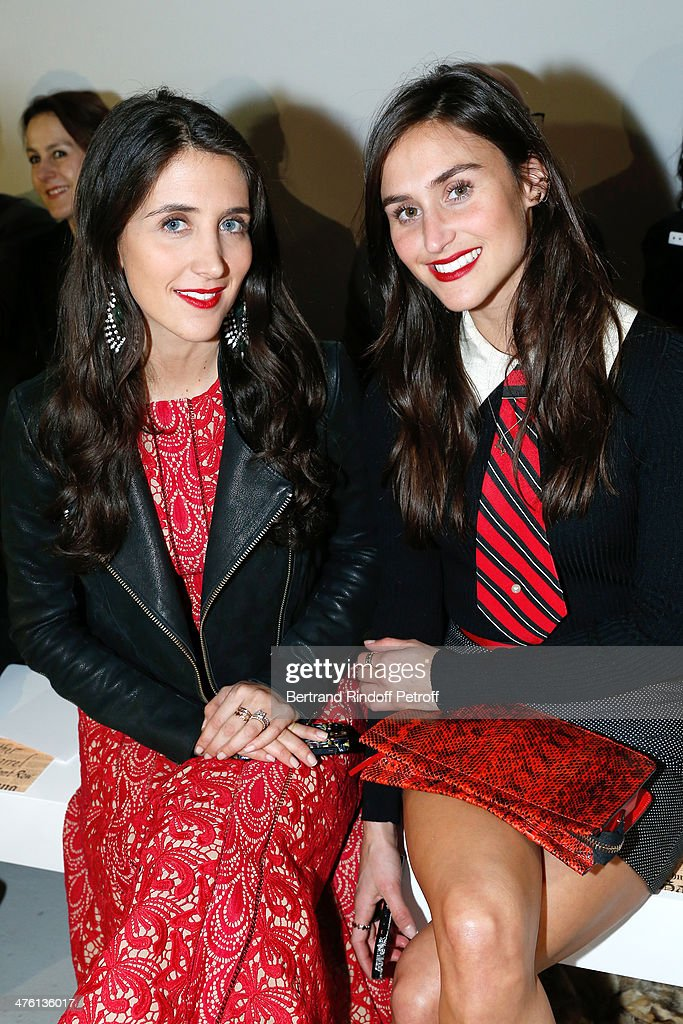 Danielle Snyder and her sister creator of jewelry Jodie Snyder attend the John Galliano show as part of the Paris Fashion Week Womenswear Fall/Winter 2014-2015 on March 2, 2014 in Paris, France.