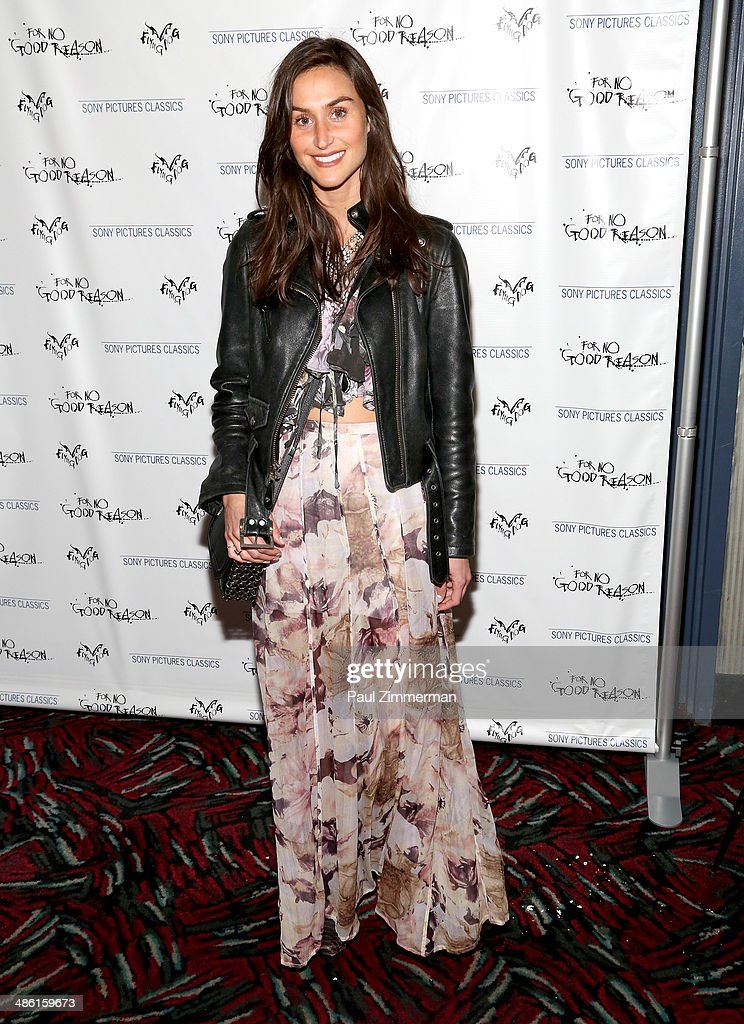 Danielle Snyder attends the 'For No Good Reason' screening at AMC Loews 19th Street Theater on April 22, 2014 in New York City.