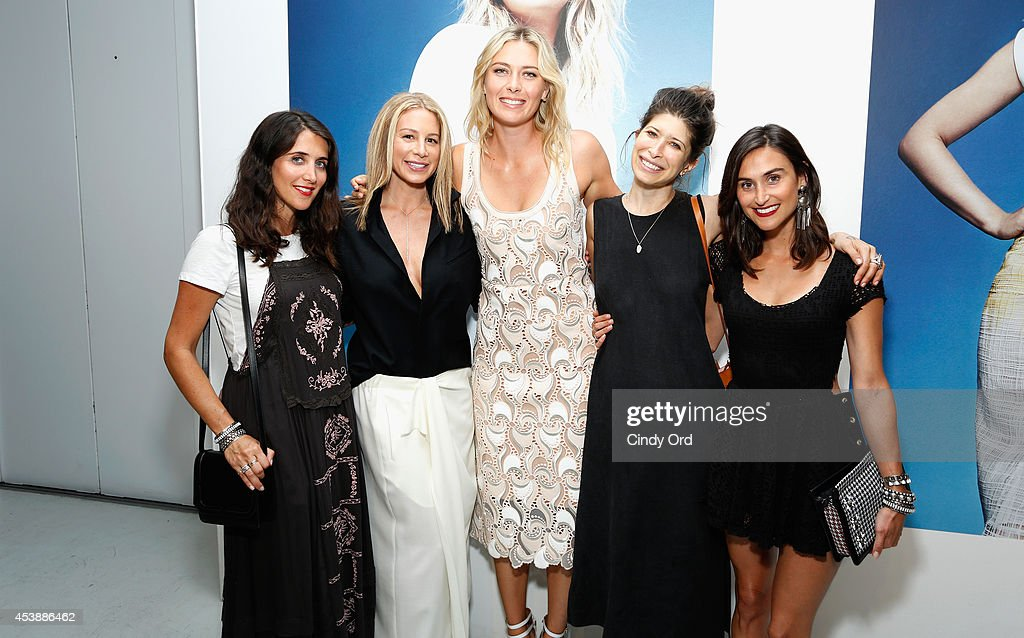 Danielle Snyder, Jennifer Fisher, <a gi-track='captionPersonalityLinkClicked' href=/galleries/search?phrase=Maria+Sharapova&family=editorial&specificpeople=157600 ng-click='$event.stopPropagation()'>Maria Sharapova</a>, <a gi-track='captionPersonalityLinkClicked' href=/galleries/search?phrase=Pamela+Love+-+Fashion+Designer&family=editorial&specificpeople=10966991 ng-click='$event.stopPropagation()'>Pamela Love</a> and Jodie Snyder attend the CFDA Celebrates Fashion Targets Breast Cancer 20th Anniversary event with <a gi-track='captionPersonalityLinkClicked' href=/galleries/search?phrase=Maria+Sharapova&family=editorial&specificpeople=157600 ng-click='$event.stopPropagation()'>Maria Sharapova</a>, presented by Porsche at The New Museum on August 20, 2014 in New York City.