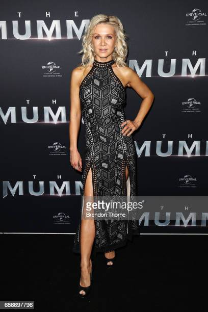 Danielle Spencer arrives ahead of The Mummy Australian Premiere at State Theatre on May 22 2017 in Sydney Australia
