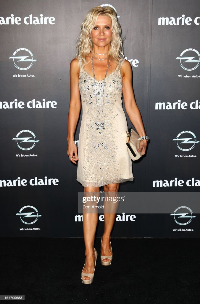 Danielle Spencer arrives at the 2013 Prix de Marie Claire Awards at the Star on March 27, 2013 in Sydney, Australia.