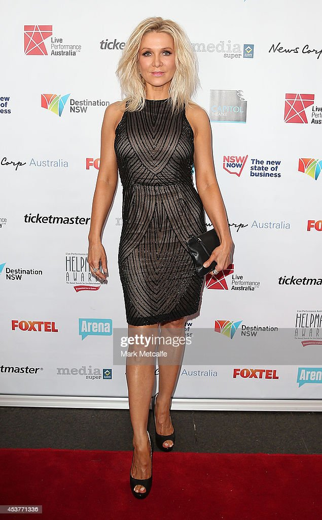 <a gi-track='captionPersonalityLinkClicked' href=/galleries/search?phrase=Danielle+Spencer&family=editorial&specificpeople=206916 ng-click='$event.stopPropagation()'>Danielle Spencer</a> arrives at the 2014 Helpmann Awards at the Capitol Theatre on August 18, 2014 in Sydney, Australia.
