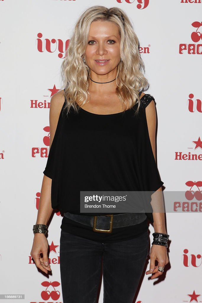 Danielle Spencer arrives at the Pacha Launch at the Ivy on November 24, 2012 in Sydney, Australia.