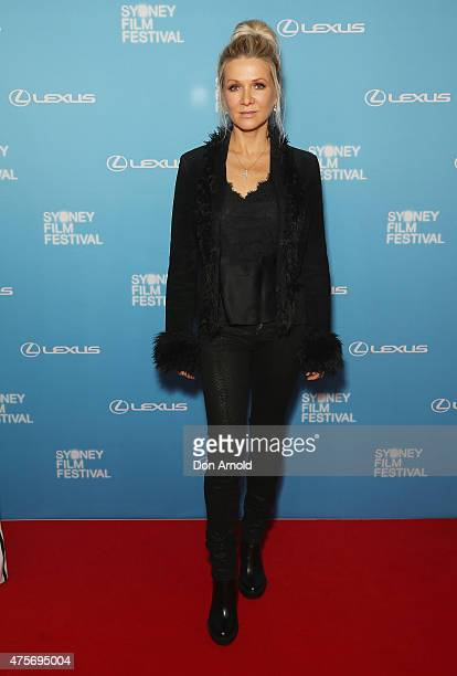 Danielle Spencer arrives at the Sydney Film Festival Opening Night Gala at the State Theatre on June 3 2015 in Sydney Australia