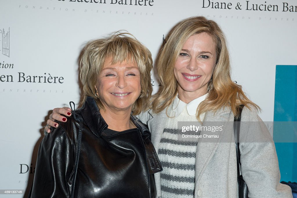 Danielle Thomson and Pascale Arbillot attend 'Les Heritiers' Premiere Hosted by Fondation Diane & Lucien Barriere at Publicis Champs Elysees on November 17, 2014 in Paris, France.