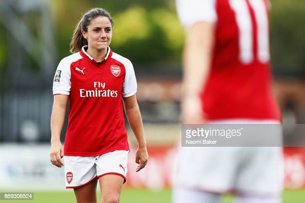 Danielle Van De Donk looks on during the Women's Super League 1 match between Arsenal and Bristol City at Meadow Park Boreham Wood on October 8 2017...