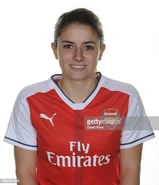 Danielle Van de Donk of Arsenal Ladies during Arsenal Ladies Photocall at London Colney on February 7 2017 in St Albans England