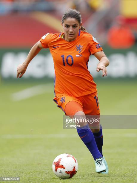 Danielle van de Donk of Holland Women during the UEFA WEURO 2017 Group A group stage match between The Netherlands and Norway at the Galgenwaard...