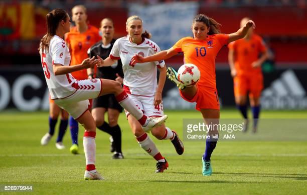 Danielle Van de Donk of Netherlands Women in action during the UEFA Women's Euro 2017 final match between Denmark and Netherlands at De Grolsch Veste...