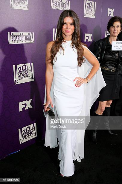 Danielle Vasinova attends The 72nd Annual Golden Globe Awards at The Beverly Hilton on January 11 2015 in Beverly Hills California