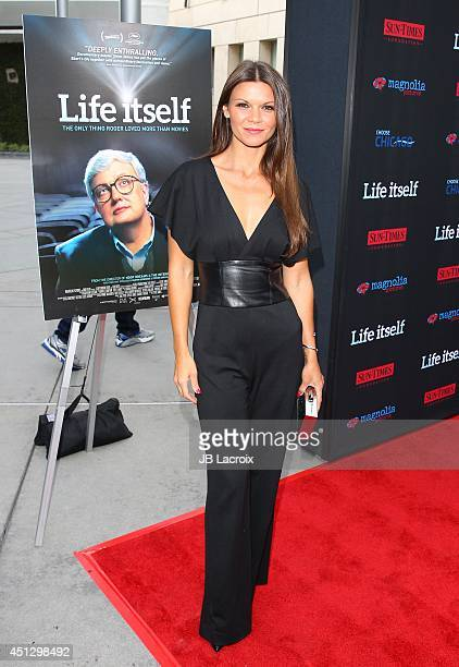 Danielle Vasinova attends the Premiere of Magnolia Pictures' 'Life Itself' at the ArcLight Hollywood on June 26 2014 in Hollywood California