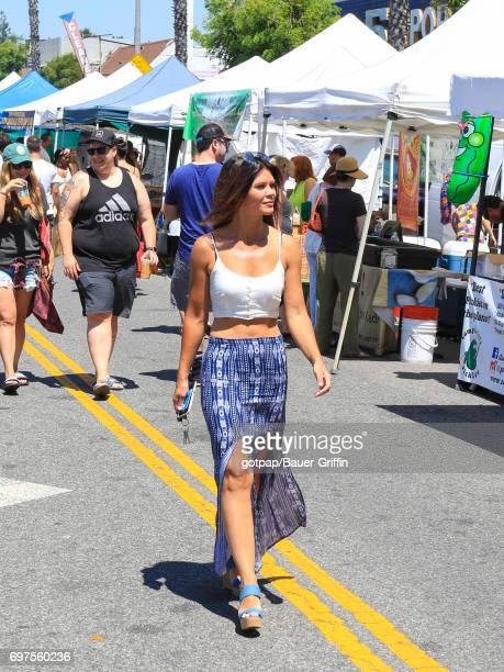 Danielle Vasinova is seen on June 18 2017 in Los Angeles California