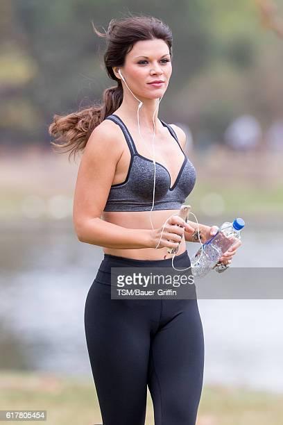 Danielle Vasinova is seen on October 24 2016 in Los Angeles California