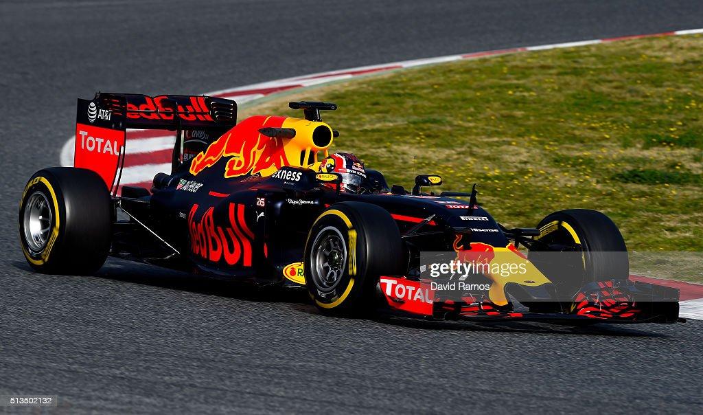 F1 Testing In Barcelona - Day Three