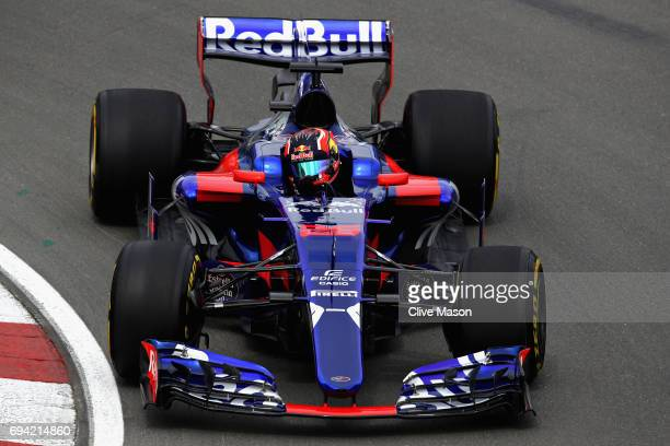 Daniil Kvyat of Russia driving the Scuderia Toro Rosso STR12 on track during practice for the Canadian Formula One Grand Prix at Circuit Gilles...