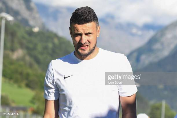Danijel Subasic during the friendly match between As Monaco and PSV Eindhoven on July 16 2017 in Le Chable Switzerland