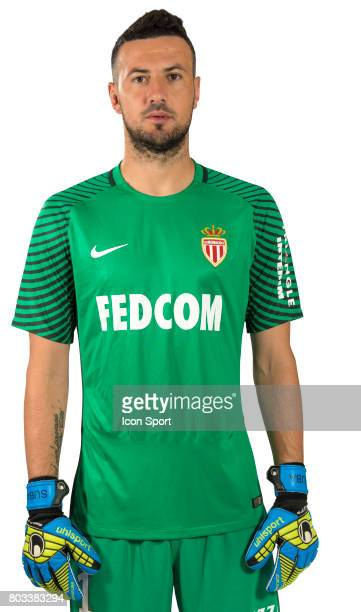 Danijel Subasic of As Monaco during official photo shooting of As Monaco Ligue 1 on September 15th 2016 in Monaco