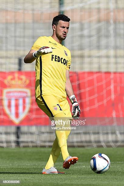 Danijel Subasic of AS Monaco in action during the preseason friendly match between Queens Park Rangers and AS Monaco on July 14 2015 in Chatillon...