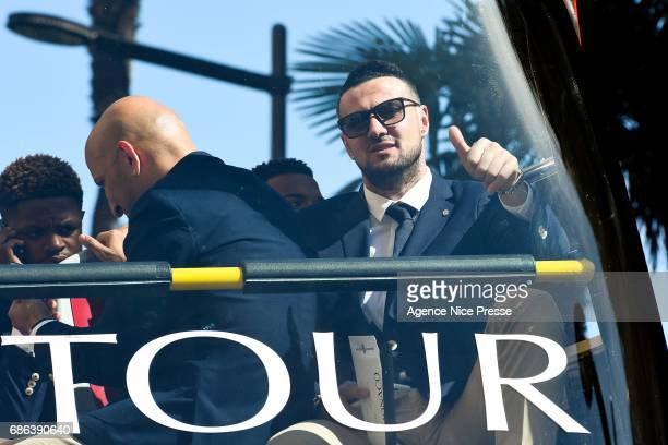 Danijel Subasic of Monaco during AS Monaco French Ligue 1 Winners Parade on May 21 2017 in Monaco Monaco