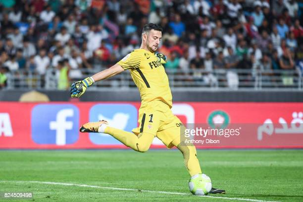 Danijel Subasic of Monaco during the Champions Trophy match between Monaco and Paris Saint Germain at Stade IbnBatouta on July 29 2017 in Tanger...