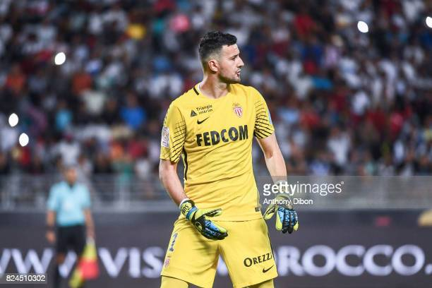 Danijel Subasic of Monaco looks dejected during the Champions Trophy match between Monaco and Paris Saint Germain at Stade IbnBatouta on July 29 2017...