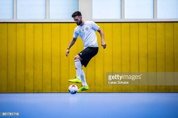 Danijel Suntic in action during a training session at Sport School Wedau on August 11 2017 in Duisburg Germany