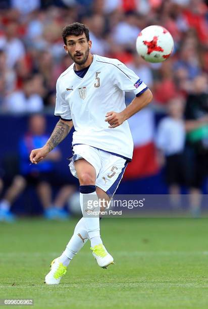 Danilo Cataldi of Italy during the UEFA European Under21 Championship Group C match between Czech Republic and Italy at Tychy Stadium on June 21 2017...