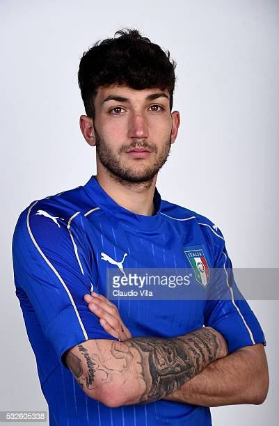 Danilo Cataldi of Italy poses during the official portrait session at Coverciano on May 19 2016 in Florence Italy