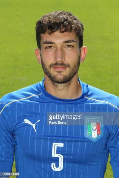 Danilo Cataldi of Italy U21 poses during the official team photo at Centro Sportivo Fulvio Bernardini on June 14 2017 in Rome Italy