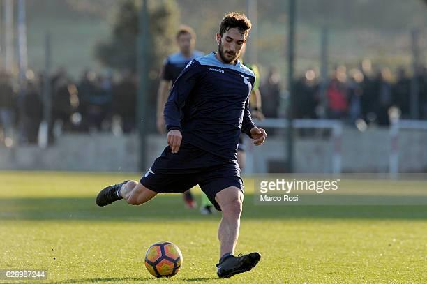 Danilo Cataldi of SS Lazio during Training at Formello Center on December 1 2016 in Rome Italy