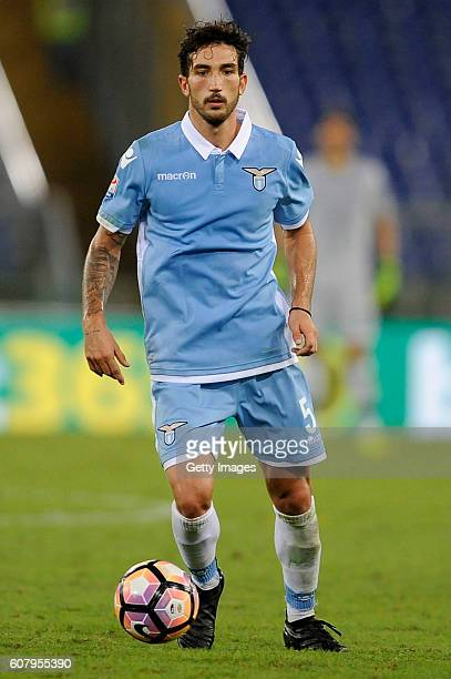 Danilo Cataldi of SS Lazio in action during the Serie A match between SS Lazio and Pescara Calcio at Stadio Olimpico on September 17 2016 in Rome...