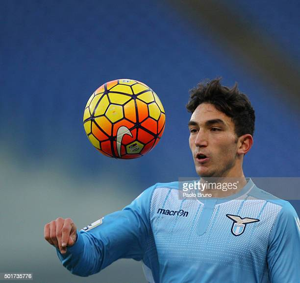 Danilo Cataldi of SS Lazio in action during the TIM Cup match between SS Lazio and Udinese Calcio at Stadio Olimpico on December 17 2015 in Rome Italy