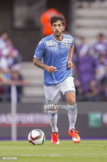 Danilo Cataldi of SS Lazio Roma during the preseason friendly match between RSC Anderlecht and SS Lazio Roma on July 19 2015 at the Constant Vanden...