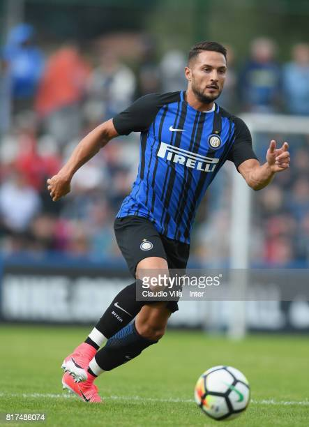 Danilo D'Ambrosio of FC Internazionale in action during the PreSeason Friendly match between FC Internazionale and Nurnberg on July 15 2017 in...