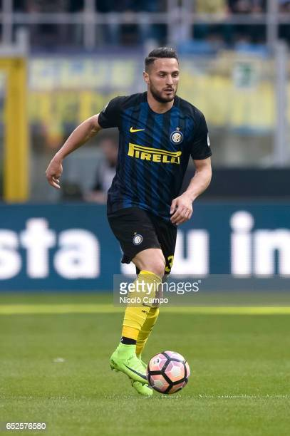 Danilo D'Ambrosio of FC Internazionale in action during the Serie A football match between FC Internazionale and Atalanta BC FC Internazionale wins...