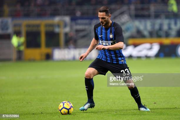 Danilo D'Ambrosio of FC Internazionale in action during the Serie A match between FC Internazionale and Atalanta Bergamasca Calcio Fc Internazionale...