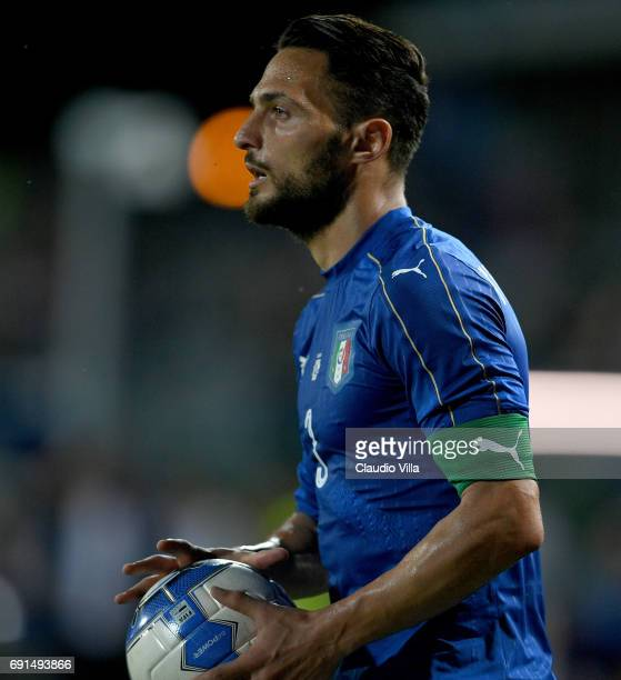 Danilo D'Ambrosio of Italy in action during the international friendy match played between Italy and San Marino at Stadio Carlo Castellani on May 31...