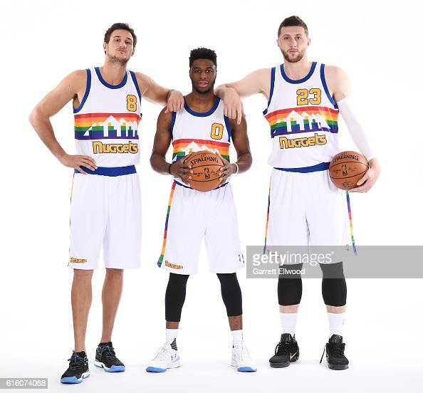 Denver Nuggets Stock Photos And Pictures: Garrett Ellwood Stock Photos And Pictures